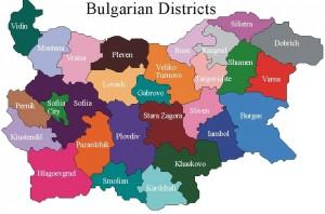 Distretti della Bulgaria